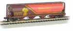 Bachmann 19153 Canadian 4-Bay Cylind. Grain Hop Saskatchewan Wheat Herald